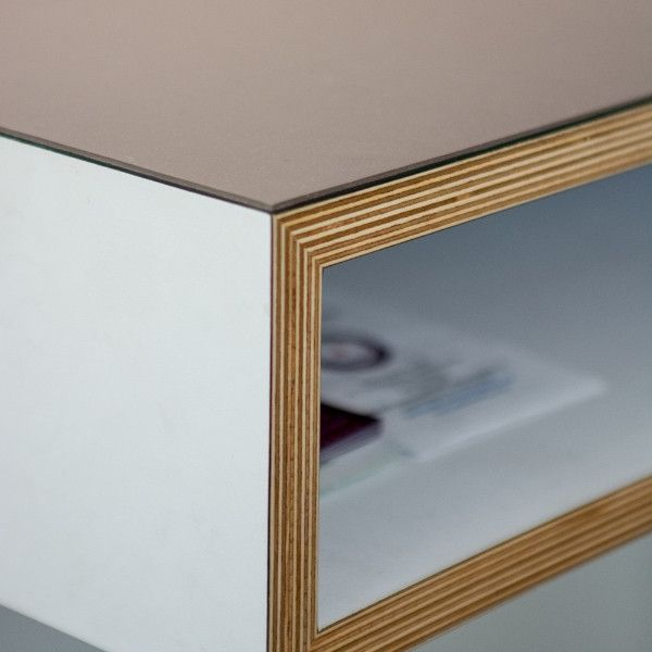 Plywood desk  Living  Make Furniture