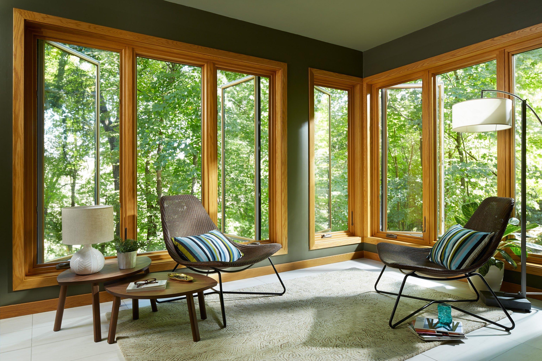 Living Room Remodel Casement Casement Windows Exterior Double Casement Windows