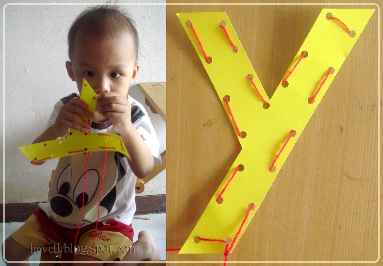 The Letter Y Preschool Craft