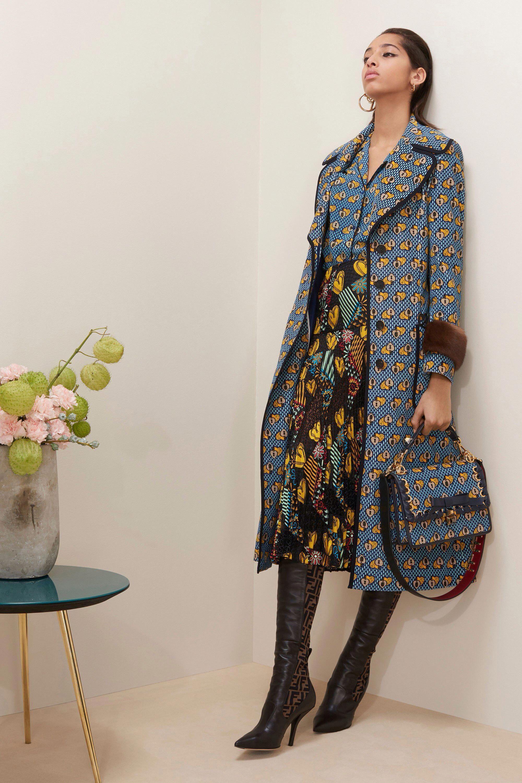 Fendi prefall fashion show collection fashiontrends basic