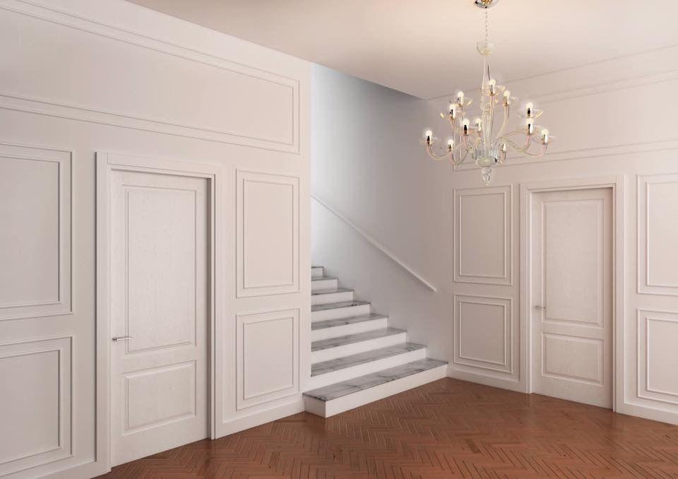 Porte laccate pantografate bianche   Porte cofas door   Pinterest