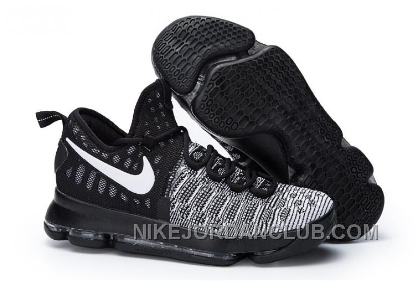"online retailer 9b2ce ef022 Find Nike Kevin Durant KD 9 ""Oreo"" Black White 2016 For Sale online or in  Pumarihanna. Shop Top Brands and the latest styles Nike Kevin Durant KD 9  ""Oreo"" ..."