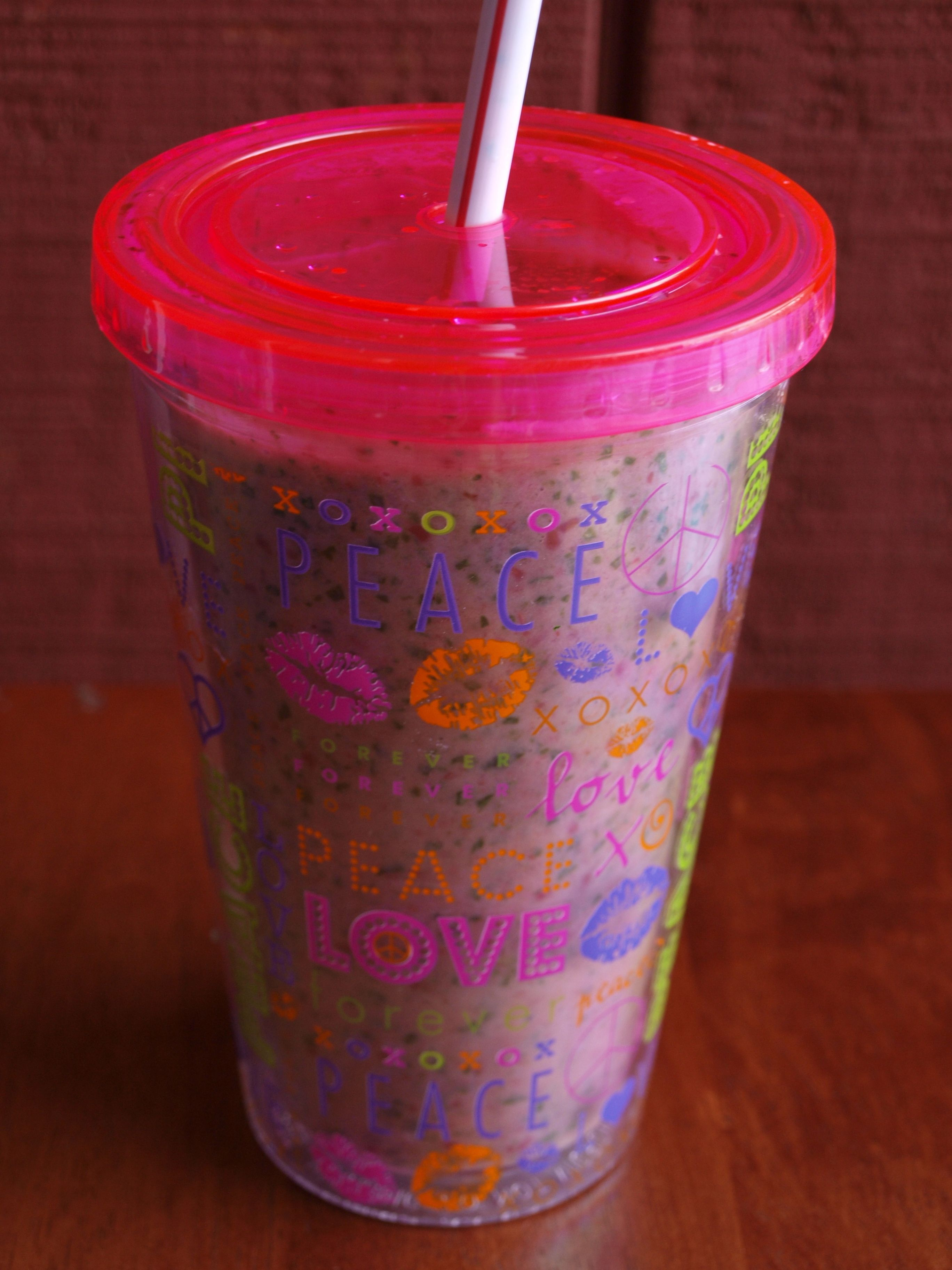 1 cup berries, 1 frozen ripe banana, 2 tsp. chia seeds (soaked for 20  minutes), 1/2 cup greek yogurt, 3 cups fresh spinach, ...