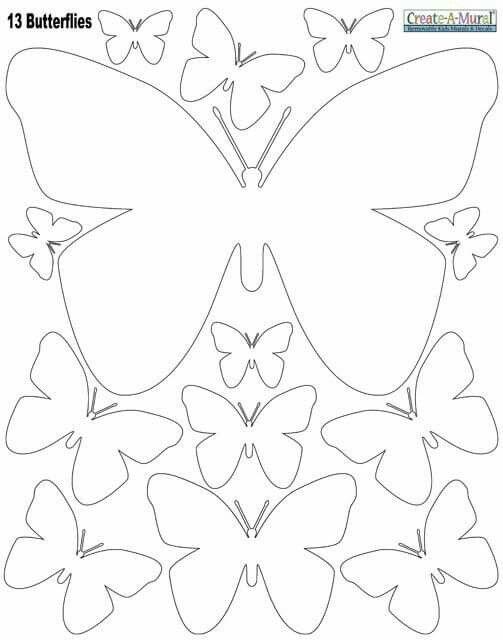 Pin de Karolina Gajewska en motyle | Pinterest | Mariposas, Molde y ...