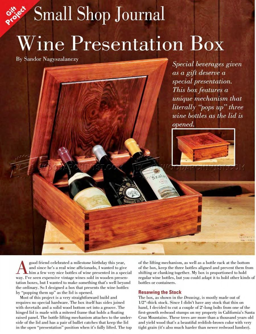 Pin By Brendan R On Woodworking Ideas Woodworking Plans Free Woodworking Plans Diy Wine Presentation