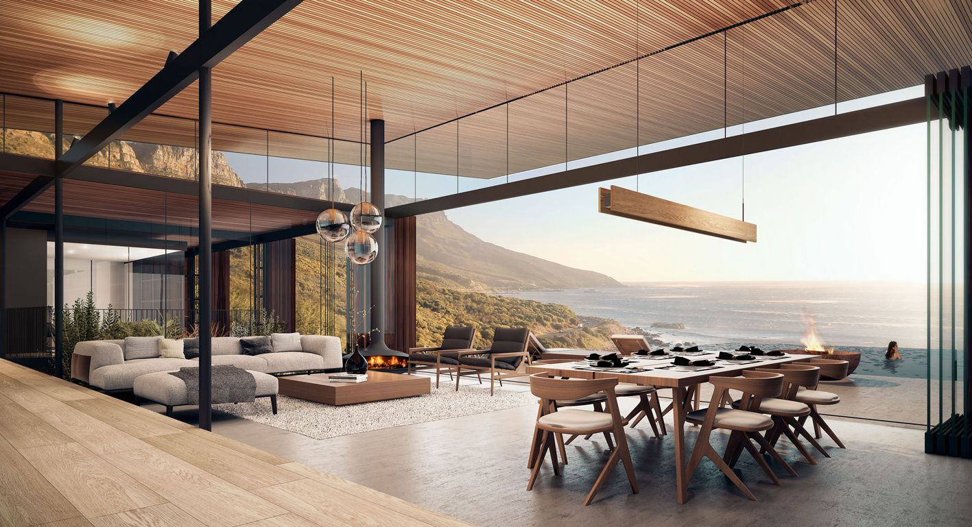 Kunst Architecture And Interiors Camps Bay House