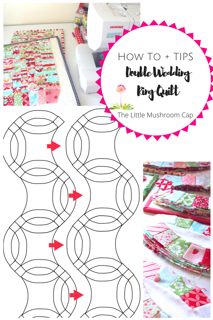 Double Wedding Ring Quilt Progress And Tips On How To Pinterest
