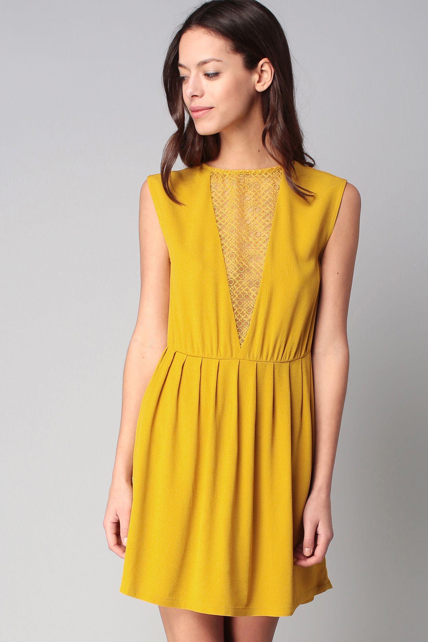0b1c358a5c1 Robe mariage jaune moutarde – Blog de photos de robes de soirée