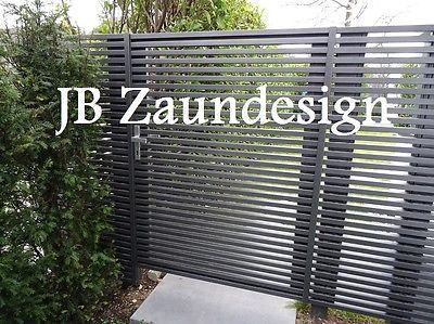 Sichtschutzzaun Wpc Aluminium Aluminiumzaun Sichtschutz Zaune Zaun