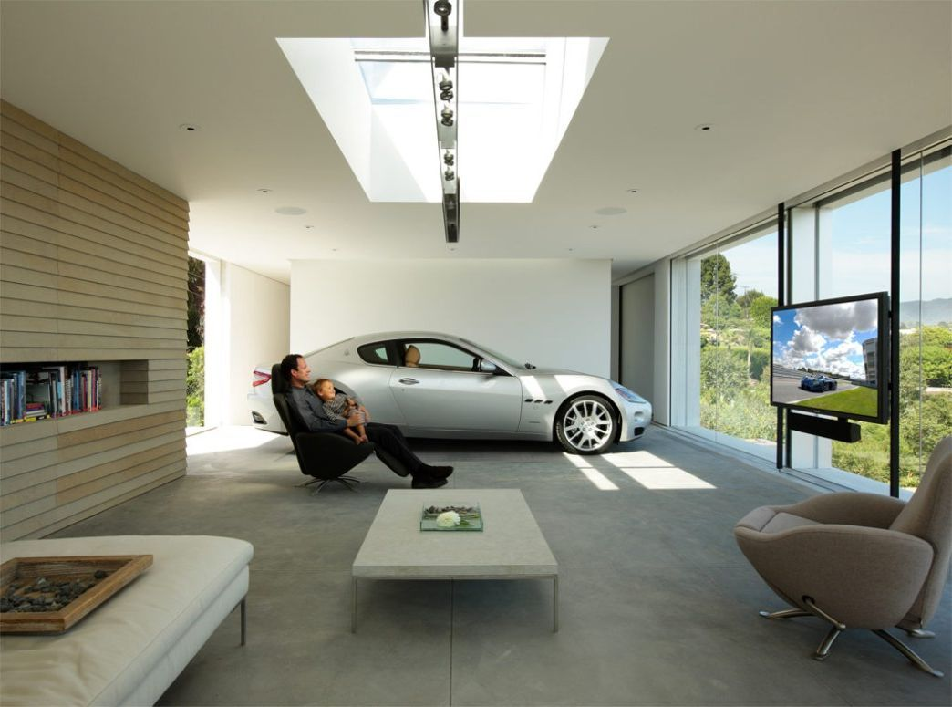 Awesome Garage Design Ideas Gallery Contemporary - Mywhataburlyweek ...