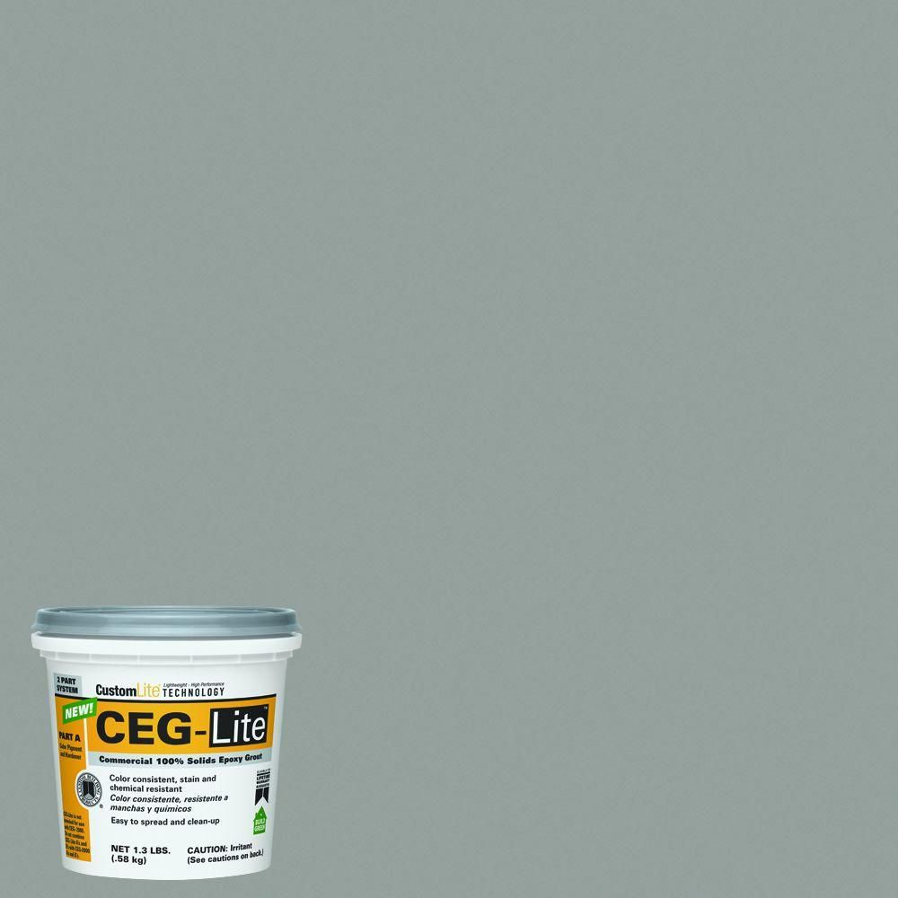 Custom Building Products Ceg Lite 165 Delorean Gray 0 29 Gal 100 Solids Commercial Epoxy Grout Lwceg165k At The Home Depot Epoxy Grout Delorean Custom