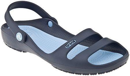 2660fbd1161f Crocs Cleo ii in Navy Light blue Crocs Cleo