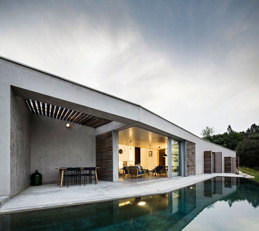 A Contemporary Rural Home for a British Couple in Gateira, Portugal ...