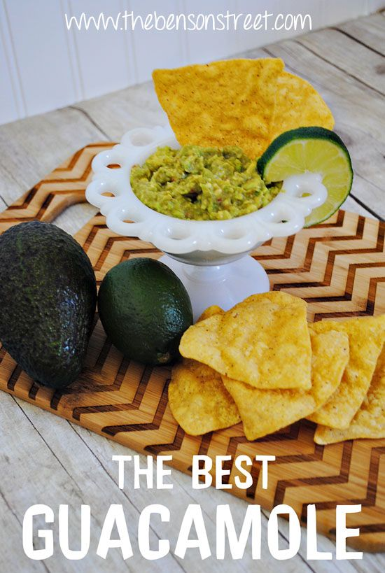 The Best Guacamole Recipe! So yummy by www.thebensonstreet