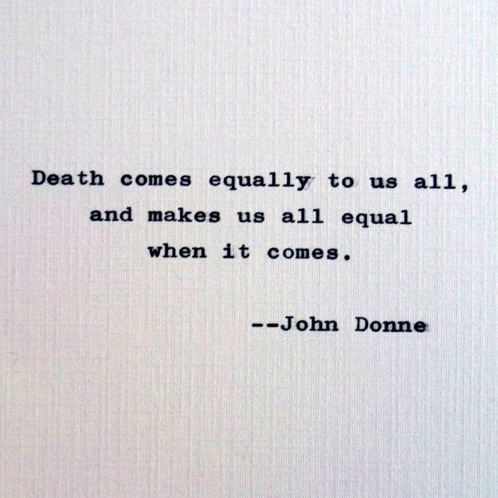 the life lessons in the book death be not proud by john donne Views of death in donne's poetry john donne's complex furthermore, death is not an end to life in death be not proud, donne mounts an.