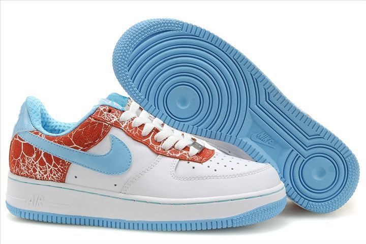 Nike Air Force 1 Bajo Easter Hunt 3 Mujer Azul/Blanco/Rojo http: