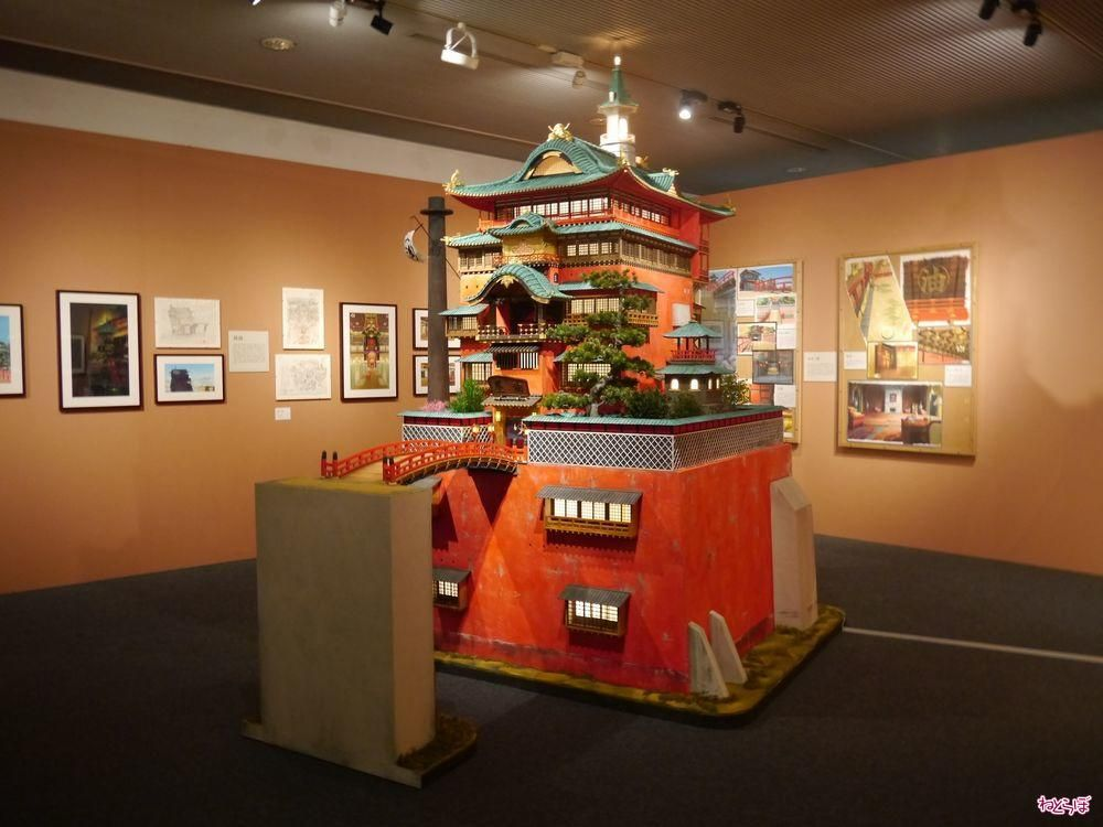 Diorama Of The Bath House In Spirited Away By Hayao Miyazaki This Is Part Of An Exhibition In Tokyo Studio Ghibli Studio Ghibli Characters Ghibli Artwork