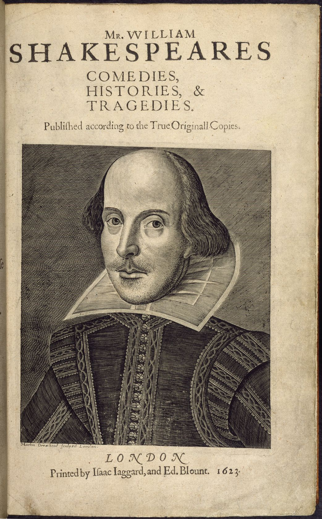 All Sizes First Folio Mr William Shakespeares Comedies