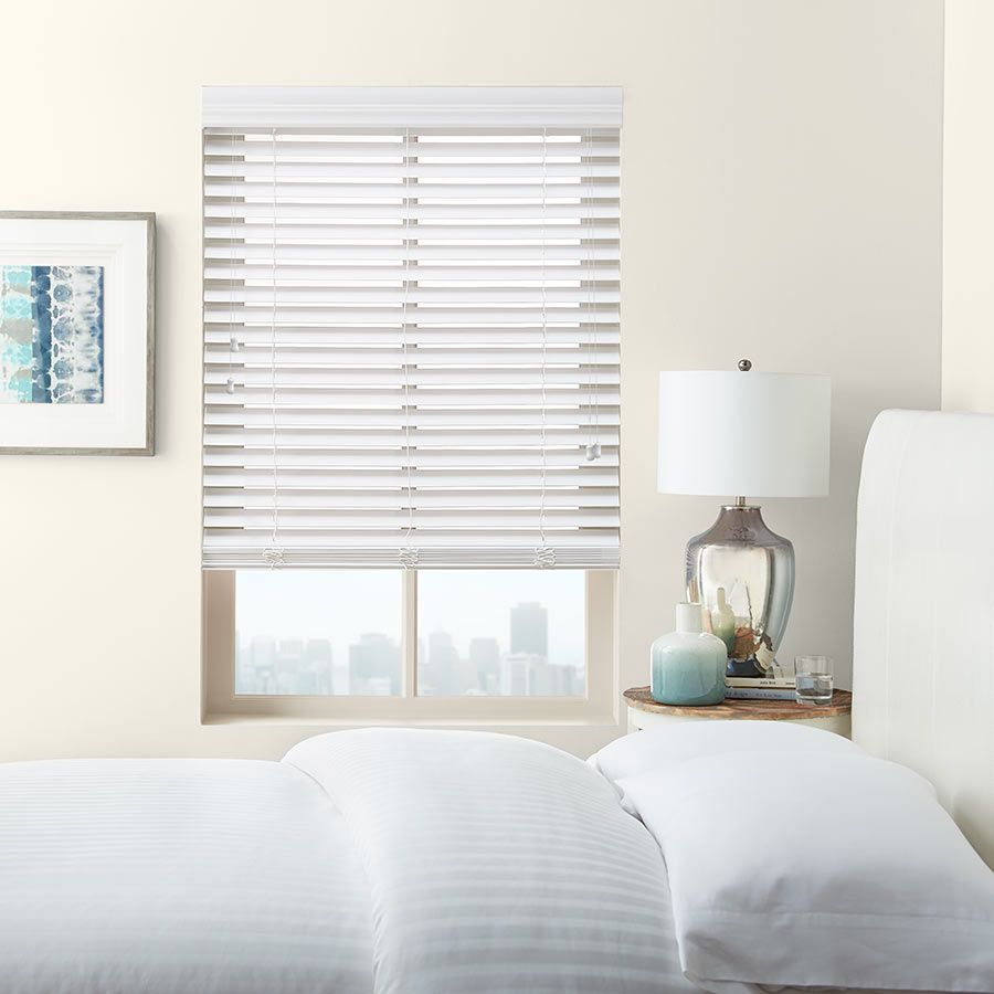 "2"" Premium Faux Wood Blinds from Faux"