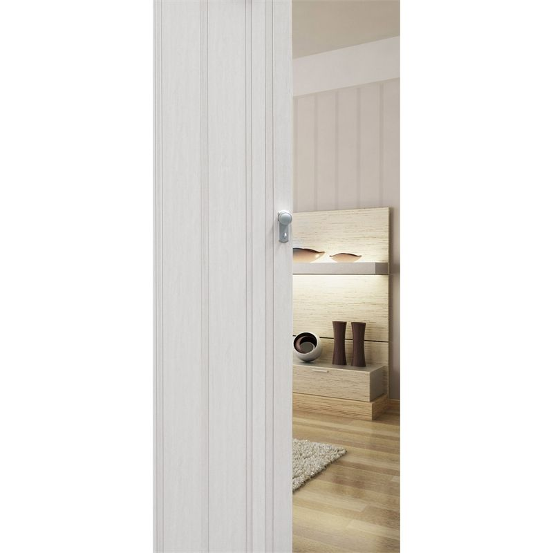 Find Pillar Products 85 x 203cm White Oak San Marino PVC Concertina Door at Bunnings Warehouse  sc 1 st  Pinterest & Find Pillar Products 85 x 203cm White Oak San Marino PVC ...