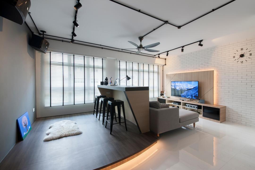 Image Result For Scandinavian Tv Feature Wall Interior Design Study Room Decor Apartment Interior