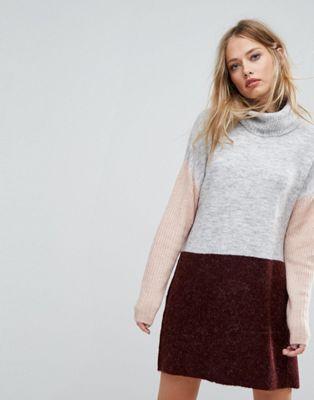 Vero Moda Roll Neck Sweater Dress   wish list 2017   Pinterest ... c73c1504bb03
