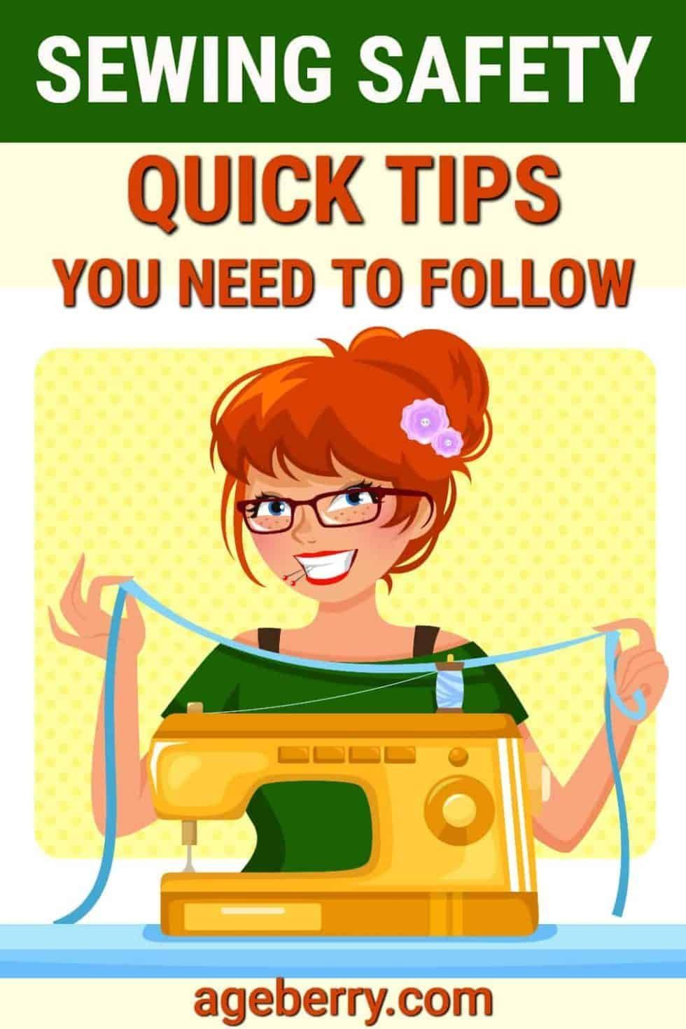 Quick safety tips you need to follow while sewing   iconos