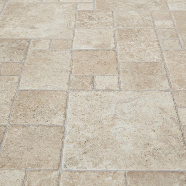 Safegrip 533 Toucan Stone Tile Vinyl Flooring Decorating