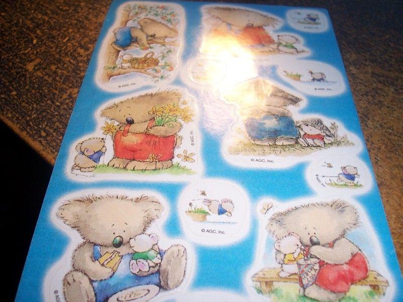 Cute Koaha Bear Stickers