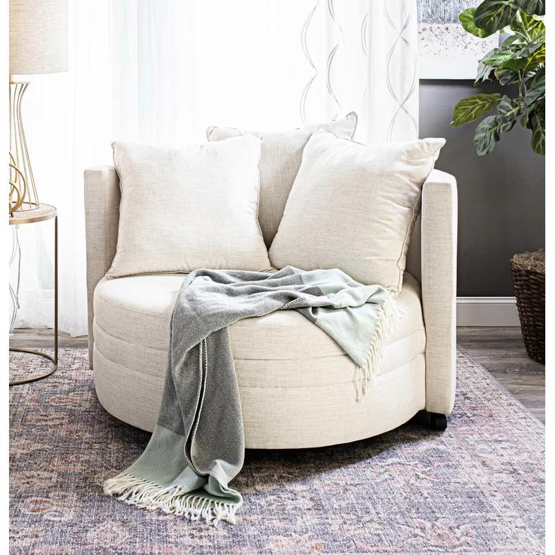 Vivienne Swivel 46 Barrel Chair Reviews Joss Main Barrel Chair Cozy Chair Bedroom Oversized Chair Living Room