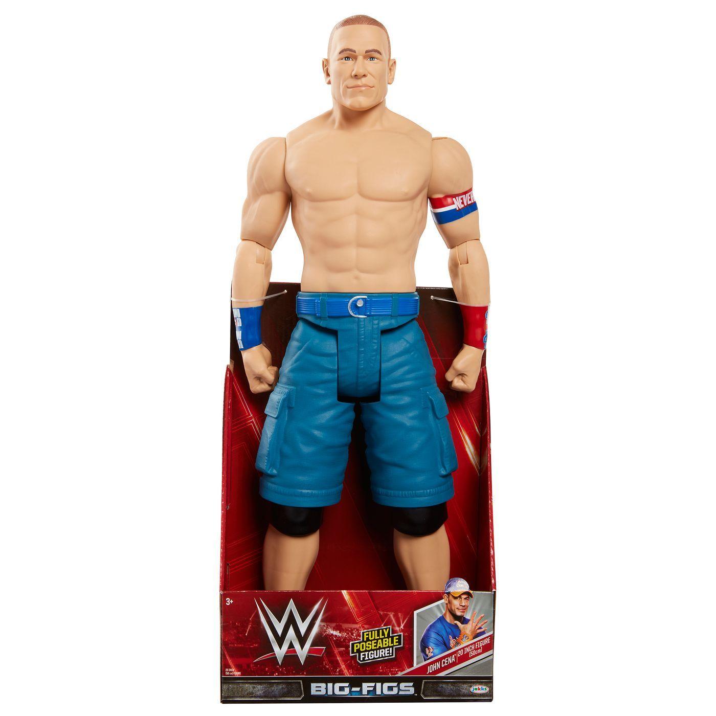 Wwe 20 Big Figs John Cena Action Figure Adib075h9m9vm John Cena John Cena Action Figure John Cena Toys