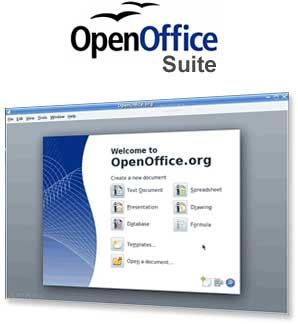 Openoffice Suite Logo And Screenshot Free And Supposedly Does More Than Word Office Suite Open Office Suite
