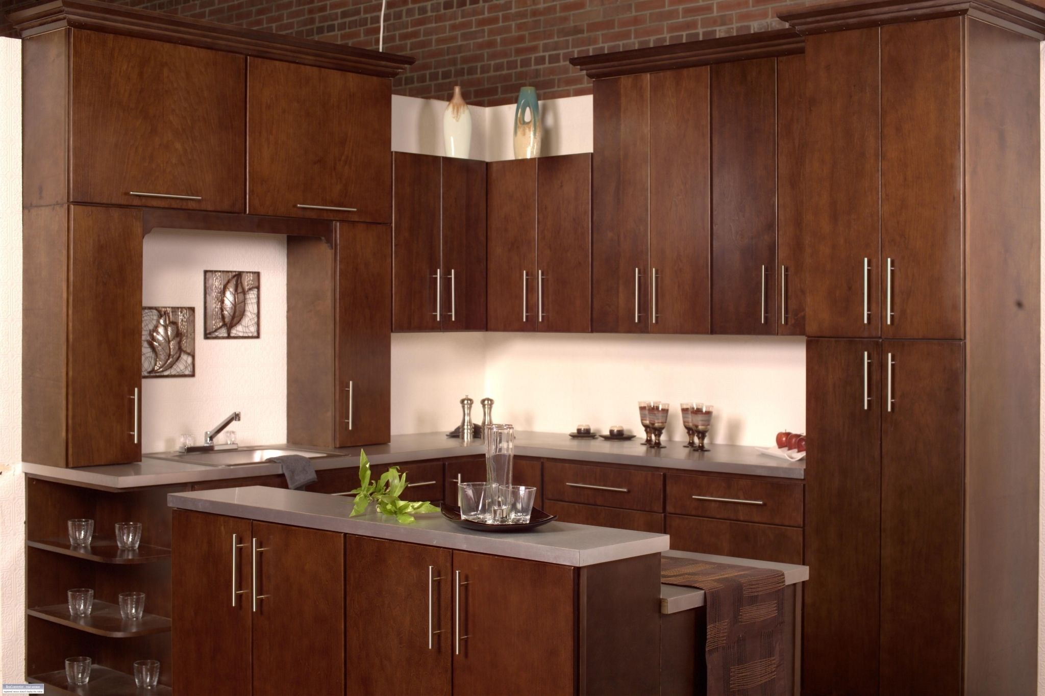 solid wood ready to assemble kitchen cabinets ranch kitchen