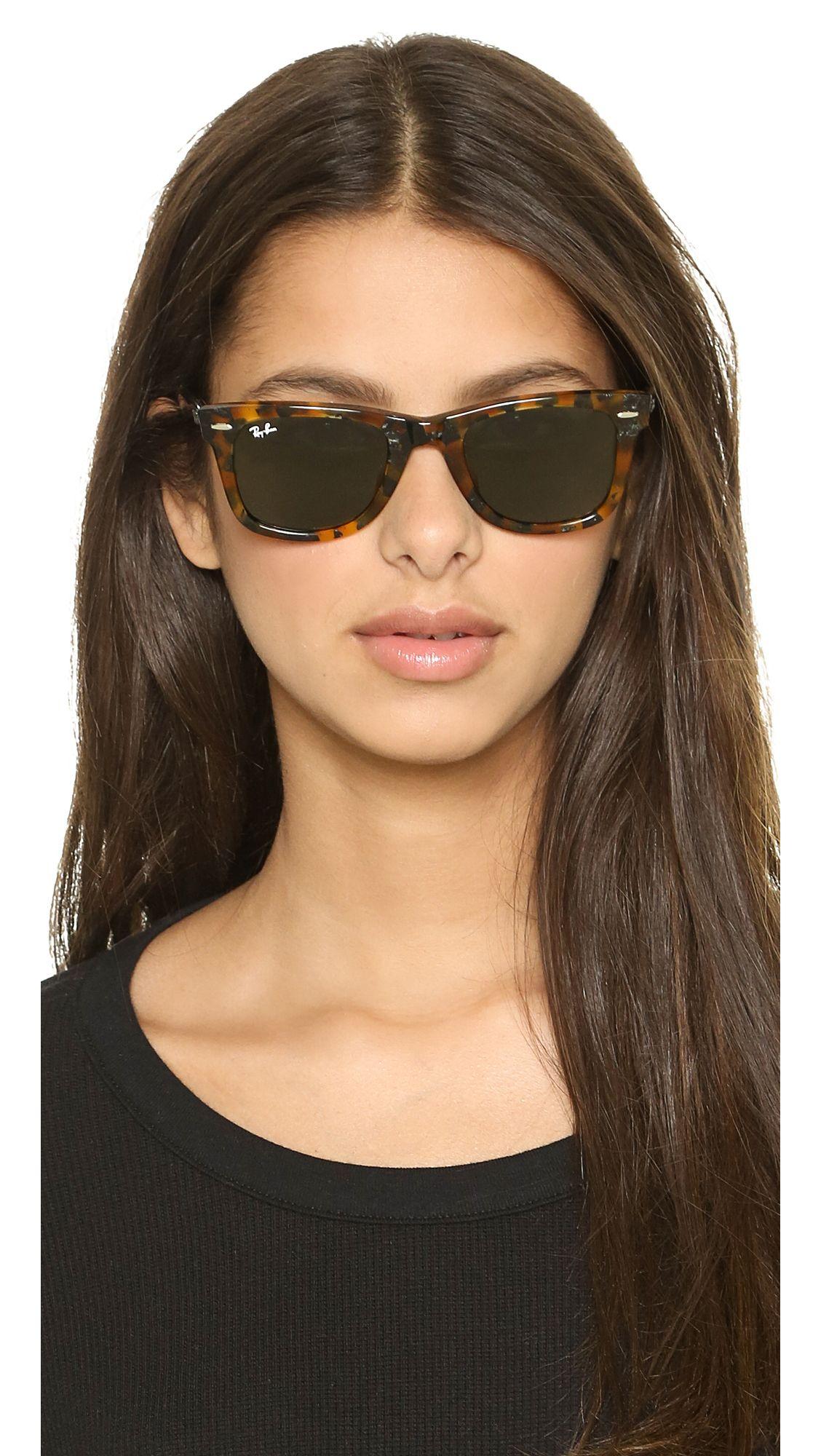 aa92623ee Icons Wayfarer Sunglasses | sunny vacation | Sunglasses, Ray ban ...