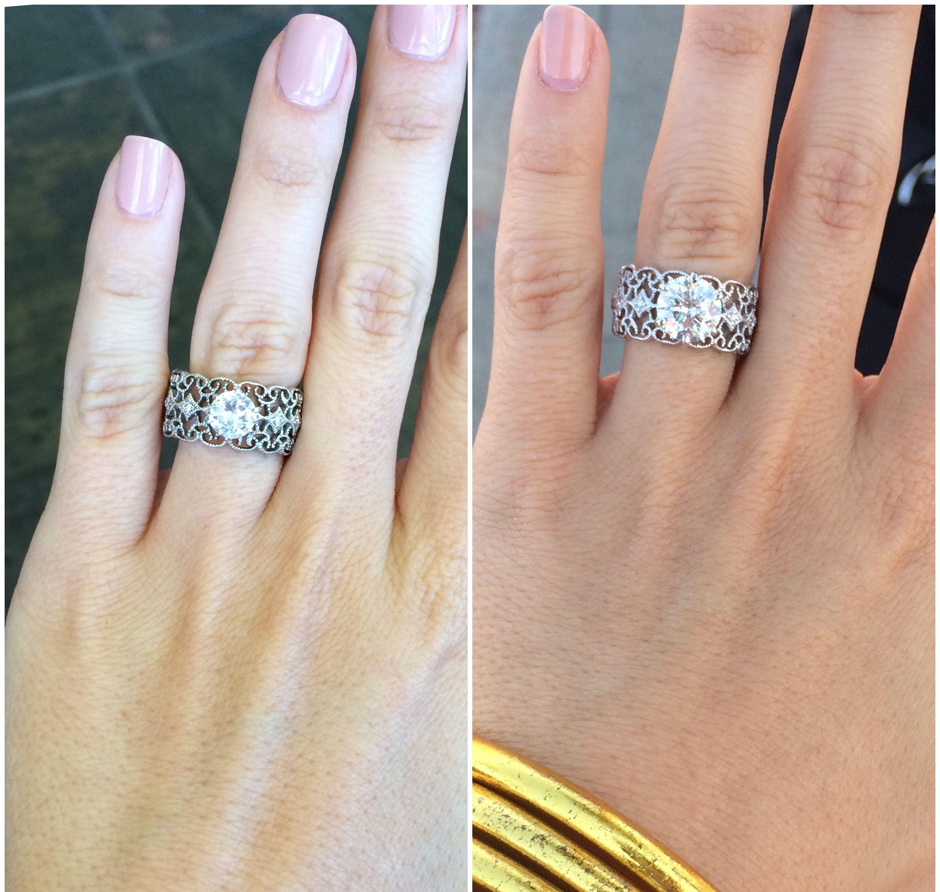 Rachel Talbott s ring Gorgeous