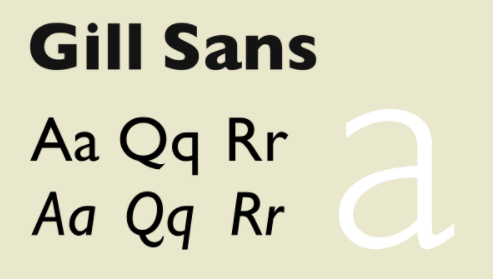 Gill Sans Font Free Download | Free Fonts | Free fonts