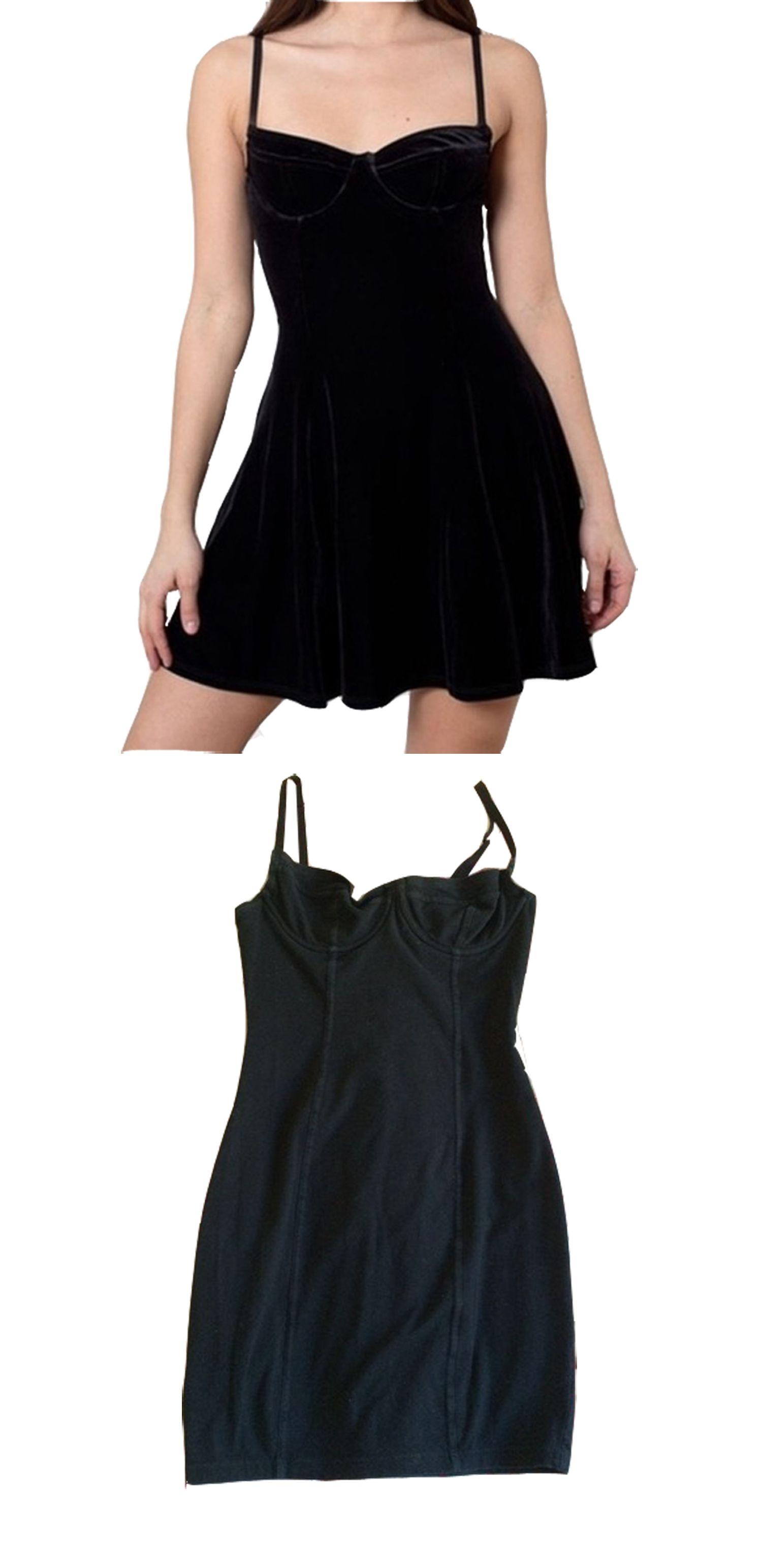6b5804320d3 A-Line Straps Short Black Velvet Homecoming Dress