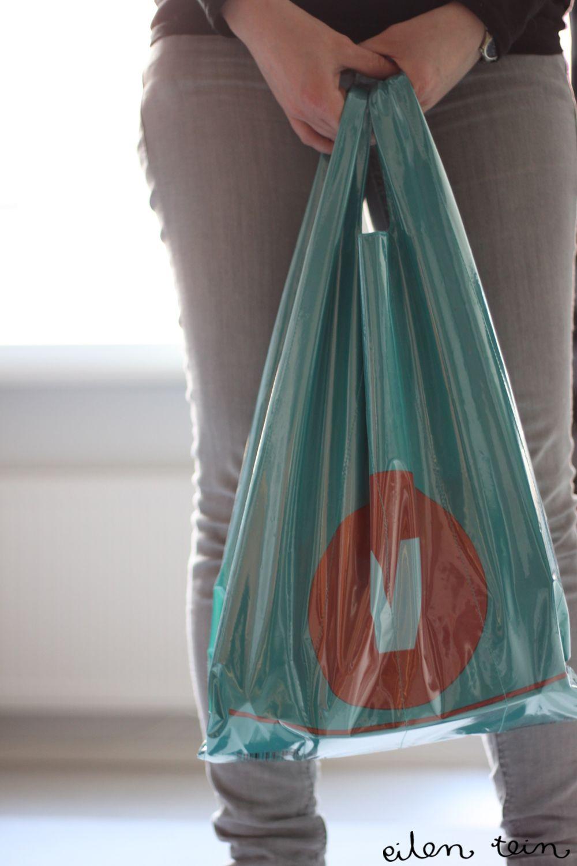 canvas-plastic bag