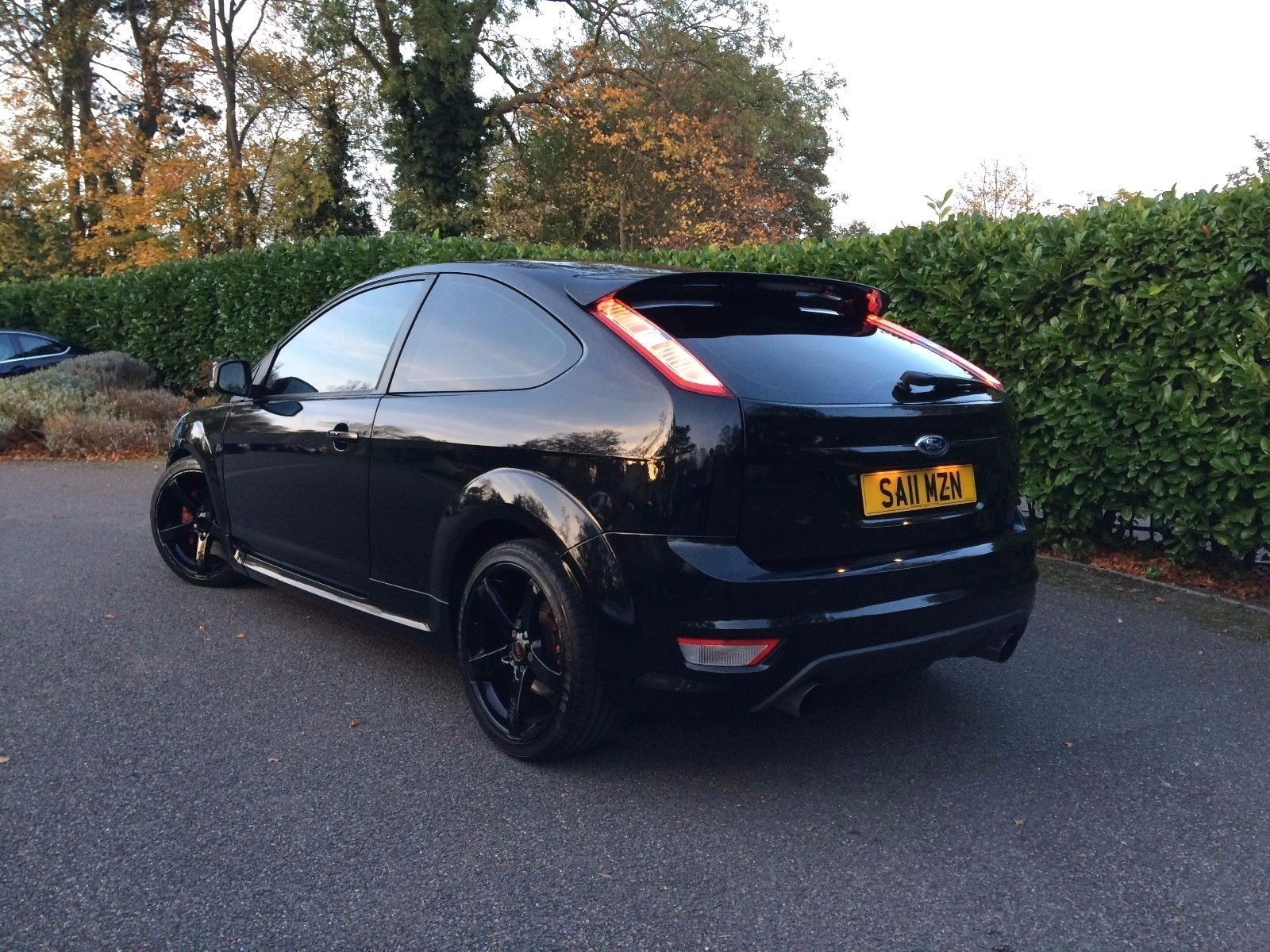 Looking For A 2011 Ford Focus St2 Black 3 Door 320bhp This One Is
