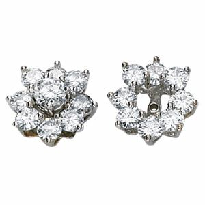 Moissanite Earring Jackets
