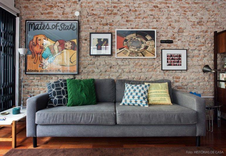 Casinha colorida Especial salas de estar 2016 as vintage, as