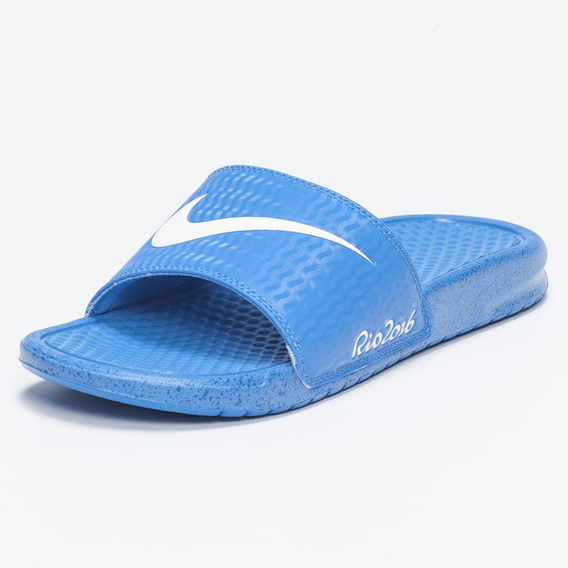 de298bbe63354 Nike Womens Benassi Rio Slide Sandals