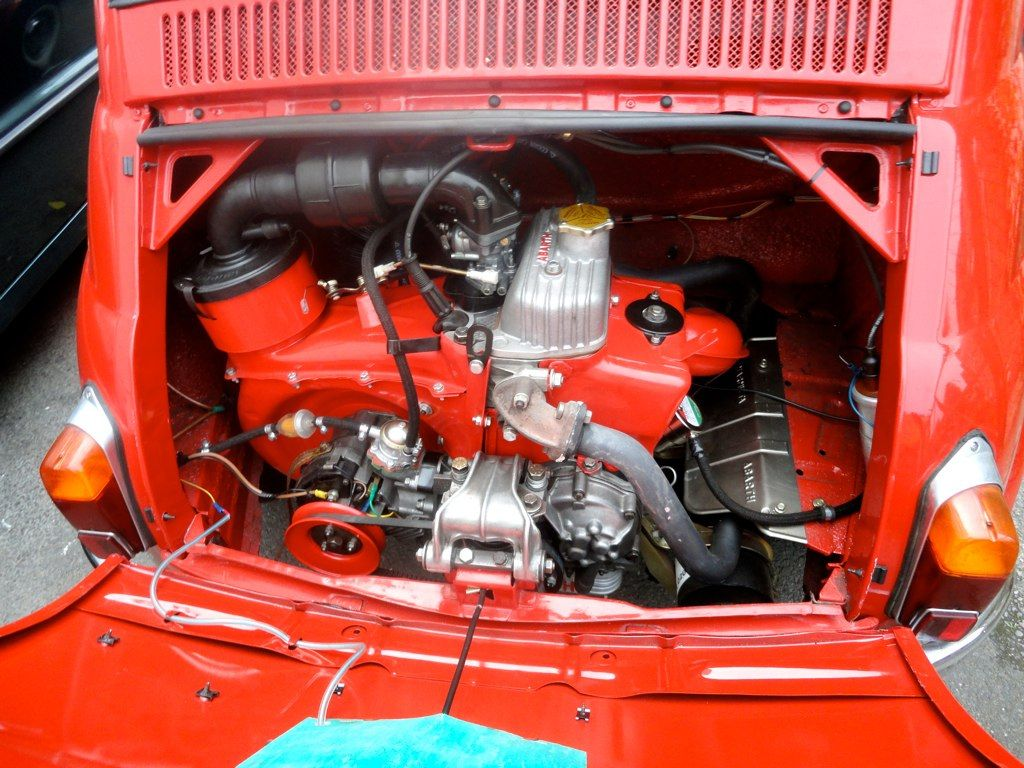Fiat 500 D Model 1964 Fully Restored By Ricambi Fiat 500 Spare