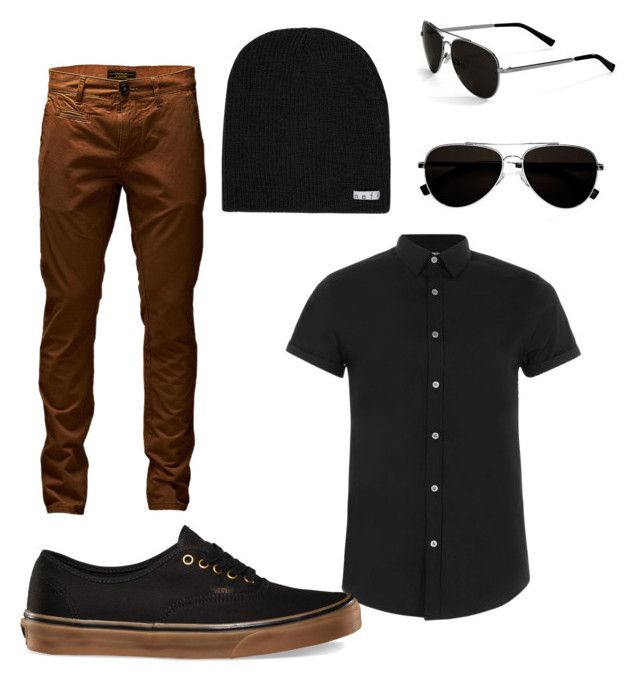 """""""Lesbian"""" by kstarrs7 ❤ liked on Polyvore featuring Topman, Jack & Jones, Calvin Klein and Neff"""