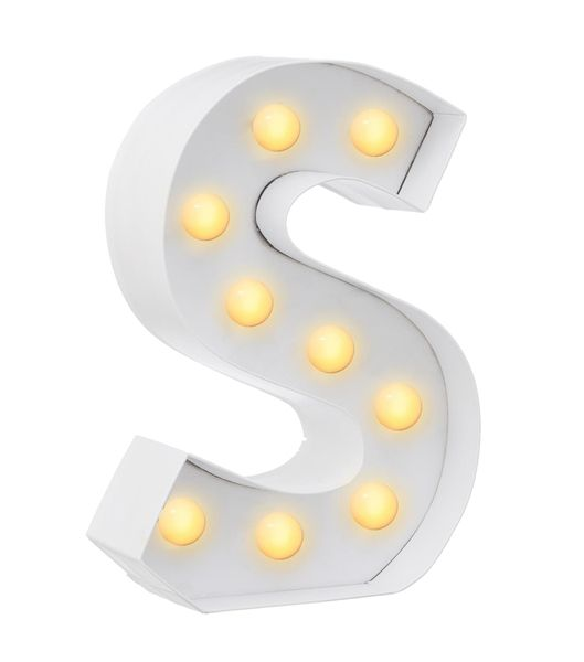 DIY letterlamp S - HEMA - Bookish Lights | Pinterest - Lezen