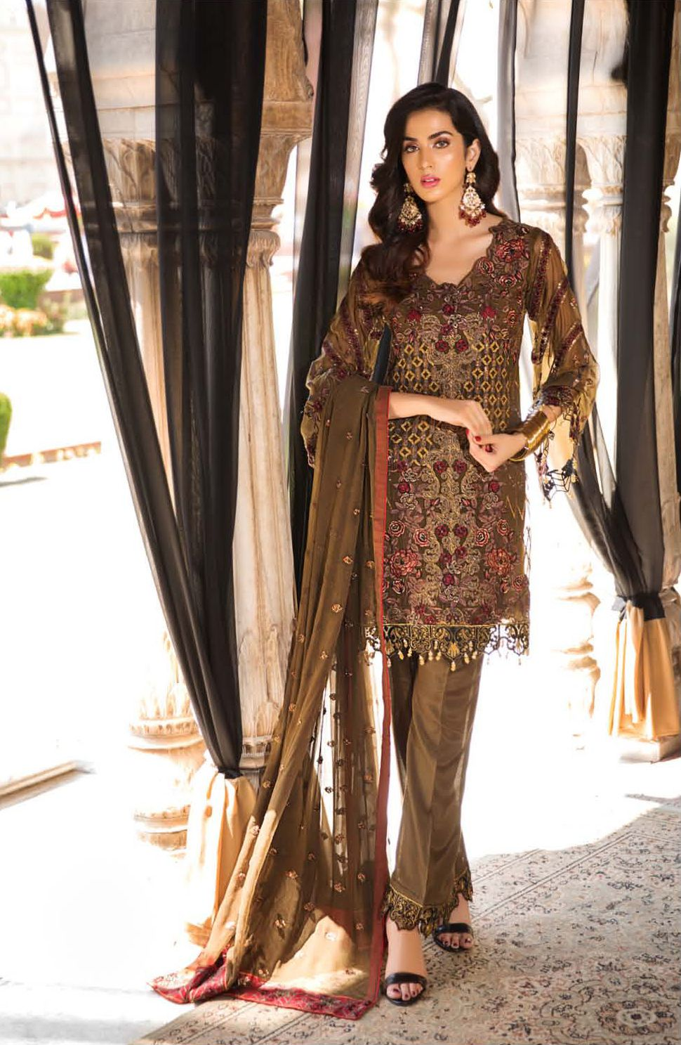 4f5c5c294f MP-129 | Rs. 6850Shop from new luxury embroidered chiffon EID Collection,  available