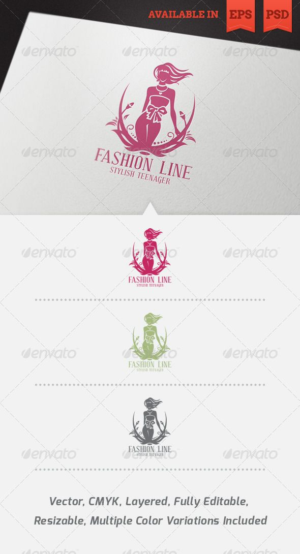 """Check out my @Behance project: """"Fashion Line"""" https://www.behance.net/gallery/50450565/Fashion-Line"""