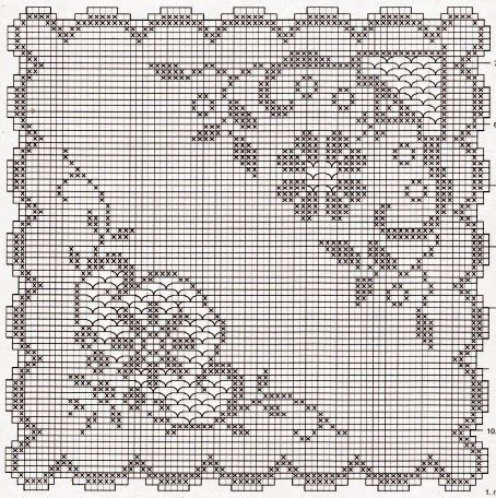 Deckchen Eckig Häkeln Crochet Crochetédiverses Pinterest