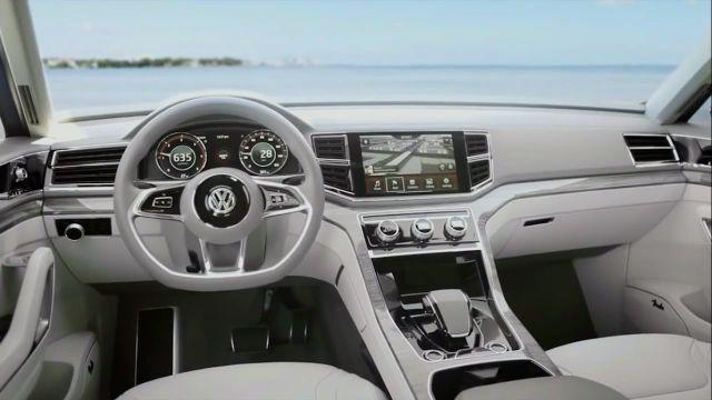 2018 Volkswagen Atlas Interior Volkswagen Suv Models Atlas