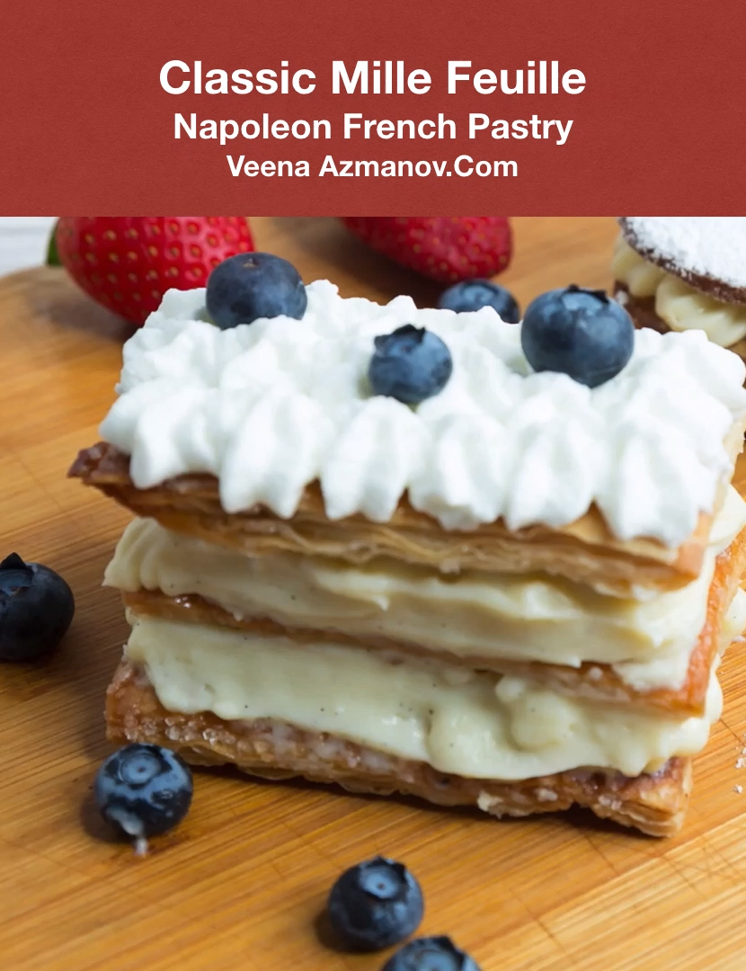 Photo of Mille-Feuille Napoleon Vanilla